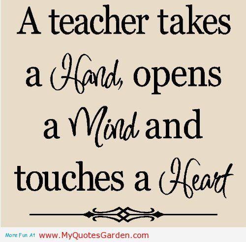 A Teacher...