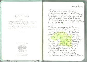 Creative Journal Jan 11