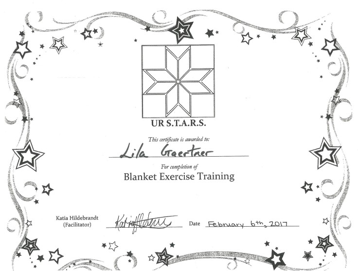 blanket-exercise-training