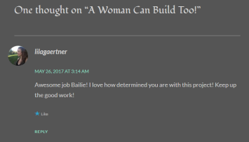 A Woman Can Build Too