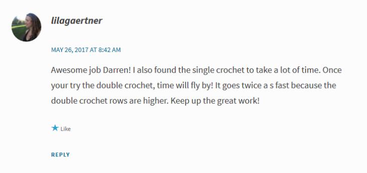 Crochet Comment